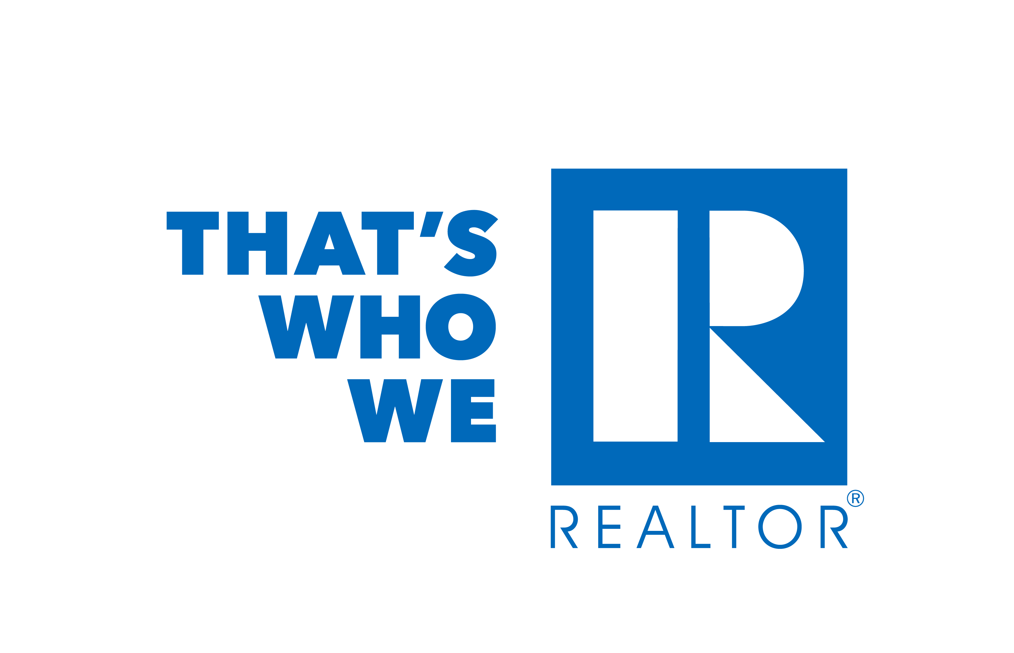 ThatsWhoWeR CampaignMark Final stacked REALTORblue